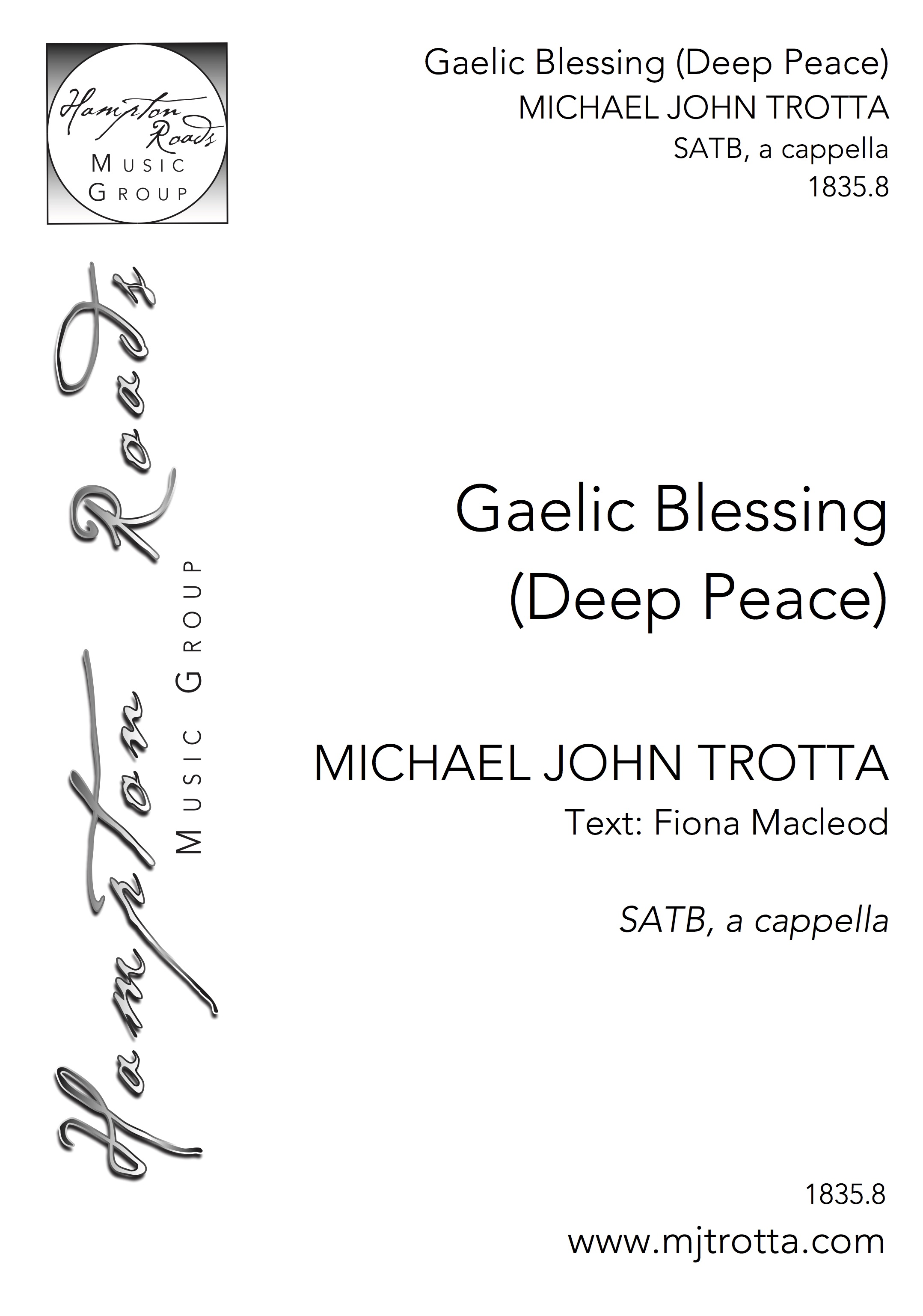 Gaelic Blessing Deep Peace