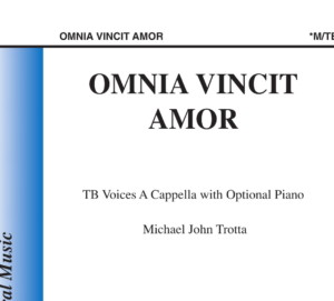 Omnia Vincit Amor Michael John Trotta