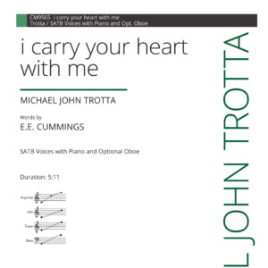 I Carry Your Heart With Me Composer Michael John Trotta