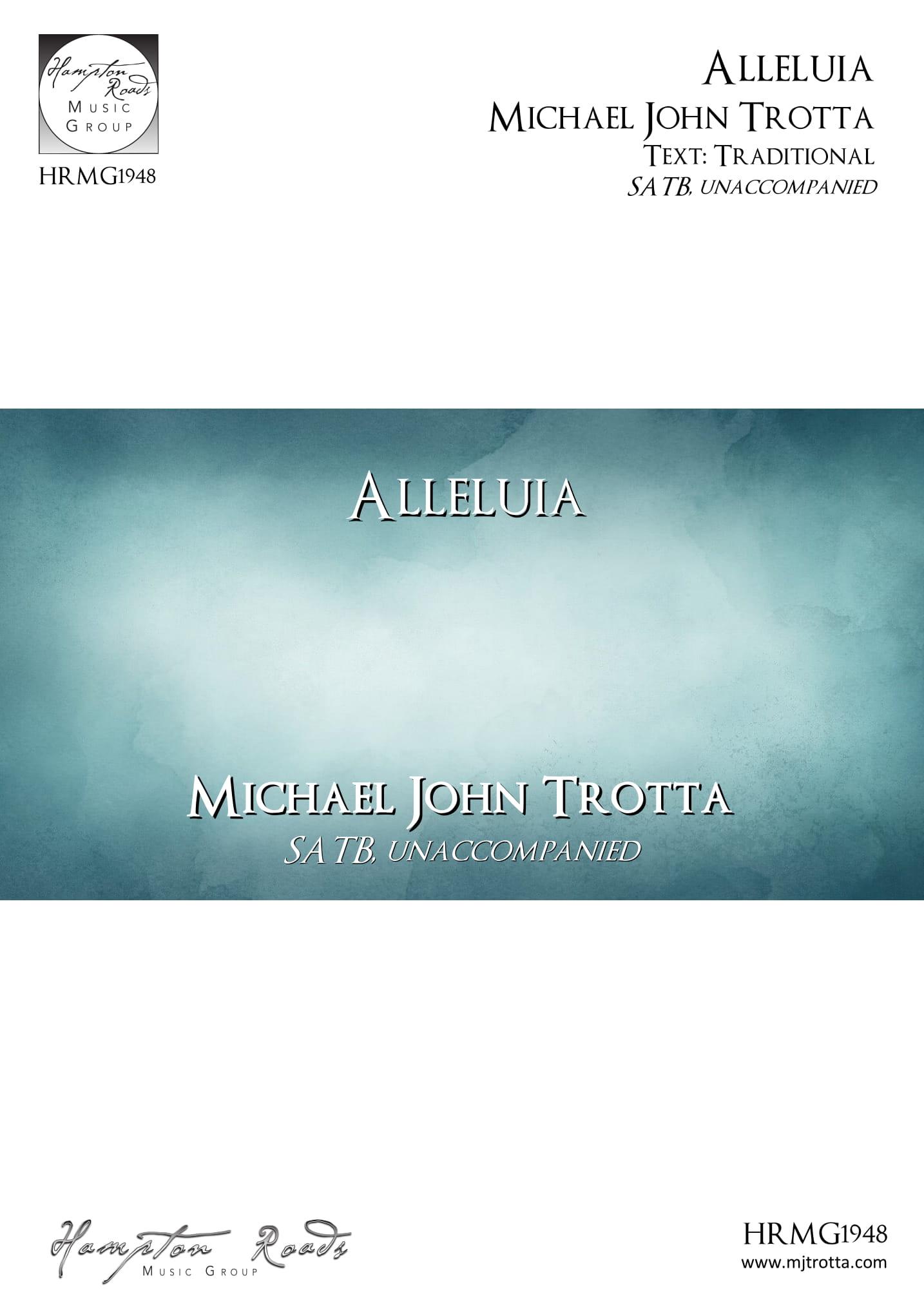 Alleluia - Michael John Trotta