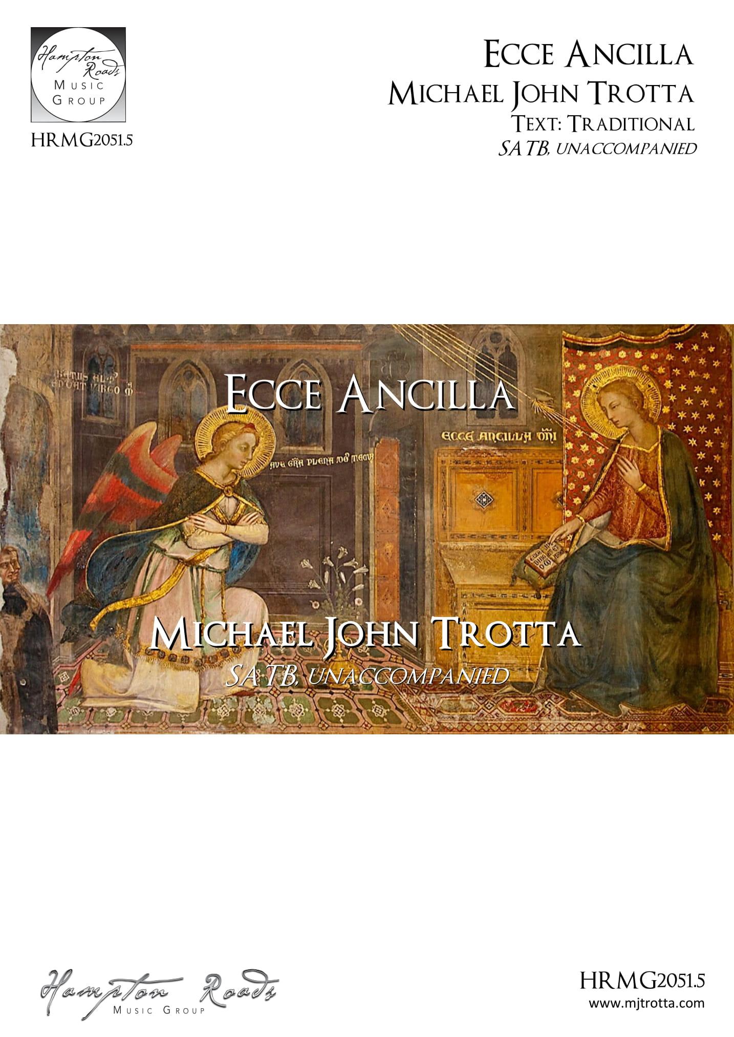 Ecce Ancilla - Michael John Trotta
