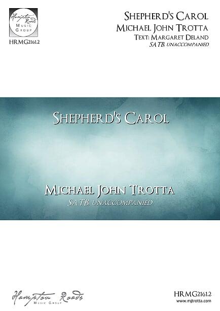Shepherd's Carol - MJ Trotta
