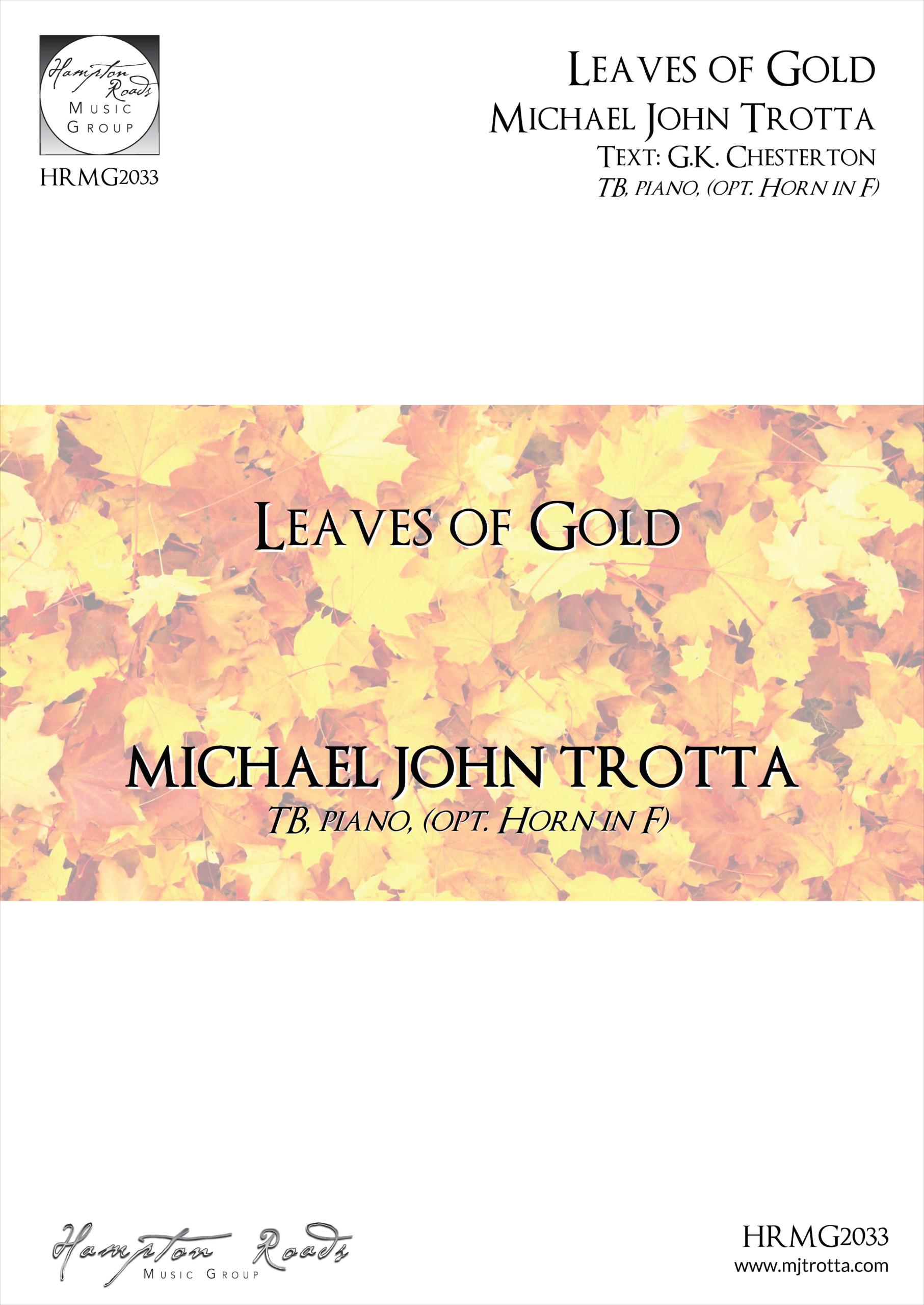 Leaves Of Gold - Michael John Trotta