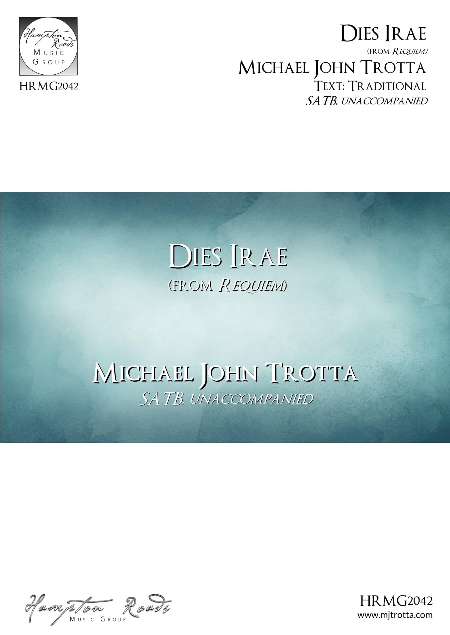Dies Irae Michael John Trotta