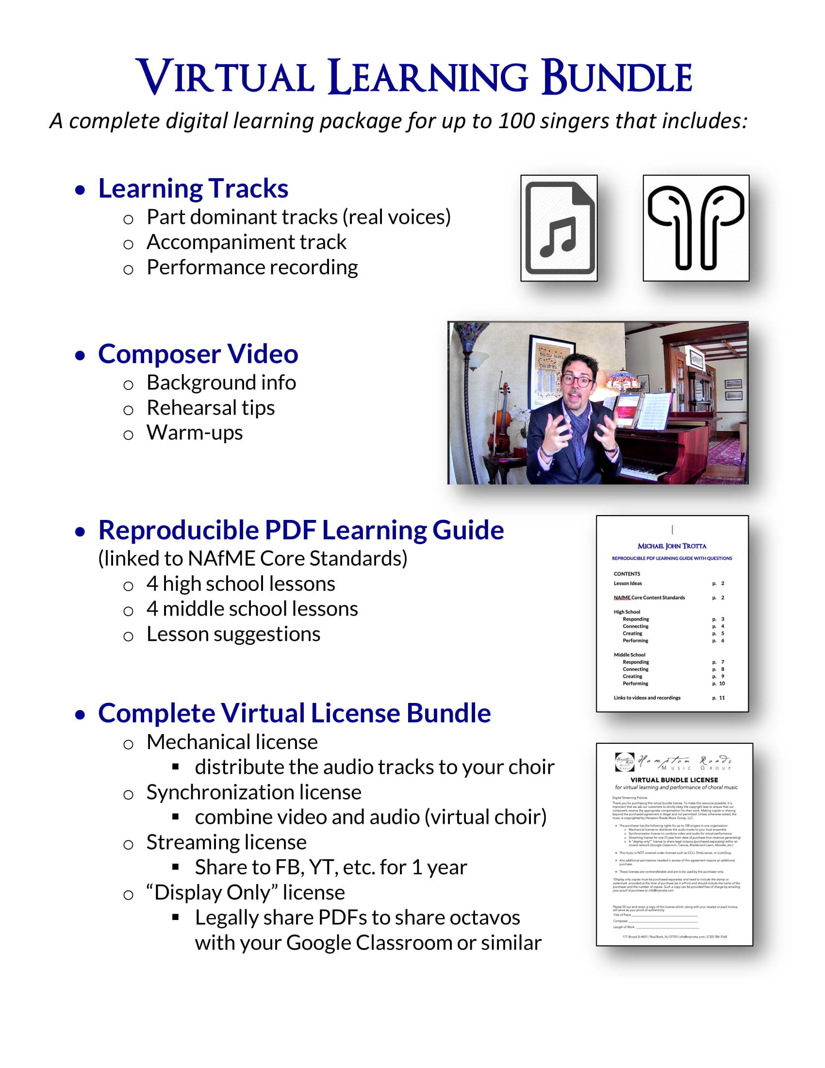 Michael John Trotta Virtual Learning Bundle